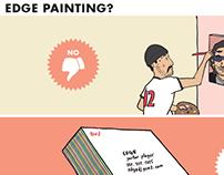 Edge Painting? Comic