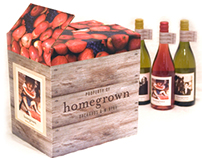 Homegrown Wine Packaging & Identity