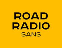 Road Radio sans-serif