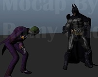 Batman & Joker Motion Capture Test