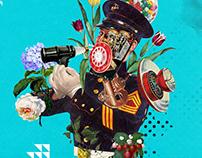 Collage Artwork 112-114