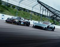 McLaren P1 GTR vs Aston Martin Vulcan