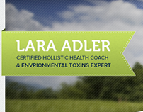 Lara Adler Landing Page
