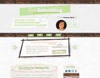 Gut Rebuilding Landing Page