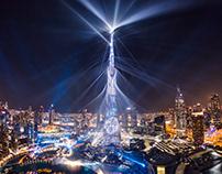 Light Up Dubai Downtown 2018