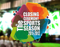 Closing Ceremony Sports Season