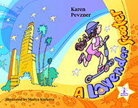 A Lavender Scooter * Karen Pevzner