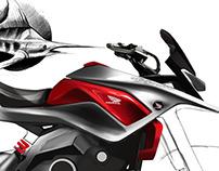 Honda crossx