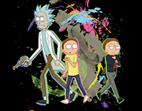 Rick & Morty T-Shirt Contest Submission