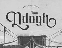 Ndogk Typeface