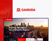 Gamuda - Corporate Website Revamp