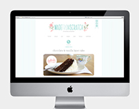 Made From Scratch :: Logo, stationery, blog redesign