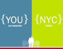 Transform NYC Streets Event Collateral