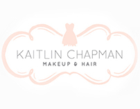 Kaitlin Chapman Makeup & Hair :: Identity, stationery
