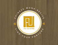 Fu Cuisine Fortune Cookies :: Logo, packaging concept