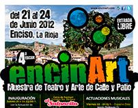 CARTELERÍA - Imagen gráfica ENCINART 2012
