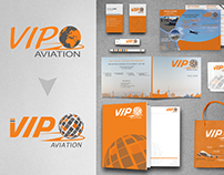 Logo Redesign ''VIP AVIATION''