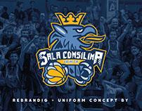 Rebranding - Basket Team -NBA concept - Sala Consilina