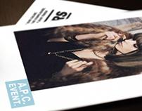A.P.C. Campagne Publicitaire globale