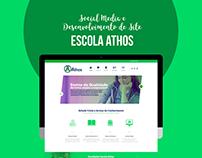 WebSite & Social Media | Escola Athos