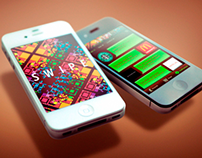 Swipe Mobile Application Interface