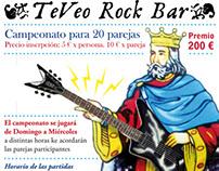 """""""El Rey del Rock"""" Carteles para concurso de mus"""