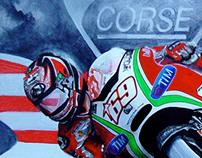 Moto GP Painting