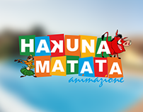 """Brand for """"Hakuna Matata Animazione"""""""