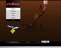 Frigo dondurma Web Site Tasarımı.