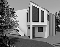 Fast concept of cottage. 2012