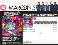 Maroon 5 - Overexposed QVC Members Only Preview