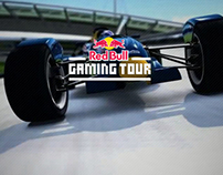 Red Bull Gaming Tour / webdesign