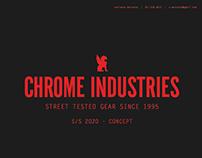 chrome industries - s/s 2020 - concept