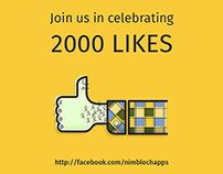 Celebrating 2000 Likes on Facebook