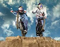 Red Bull Pump Riders / webdesign