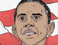 Presidential Illustrations - Mr Porter