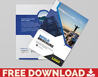 Free Multipurpose InDesign Brochure Template Oct 19