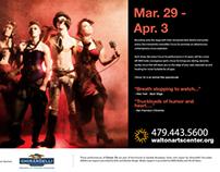 WaltonArtsCenter Clubhaus Scrolling Ads