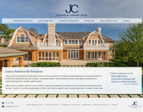 Estates by Jeffrey Collé (Web Design)