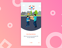 Toys delivery mobile app tutorials - Adobe XD #MadeWith