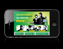 Sprite Spark Music Mixer for iPhone