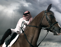 Horse Bumper for Sharjah TV