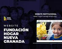 Website - Fundación Hogar Nueva Granada