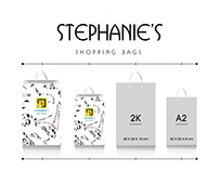 Music Notes for Stephanie's |Shopping Bags