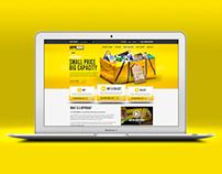 HippoBag Website (concept)