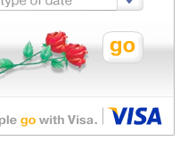 Visa Go! Date Location Gadget