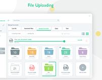 File management UI
