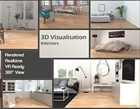 3D Visualizations Interriors