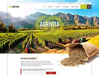 Agrivita - Website