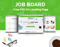 Landing Page Deisgn - Free PSD Template